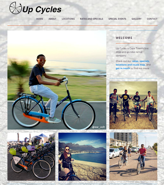 Upcycles website