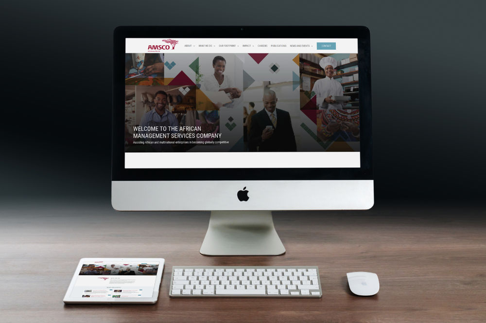 AMSCO Website Design Pomegranite Online Presence Consultancy