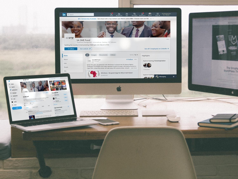 SA SME Fund Mockup - Pomegranite Online Presence Consultancy - Content Development-min